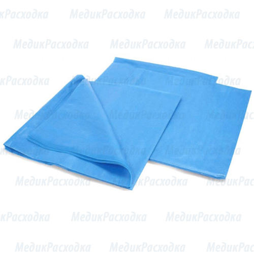 Медицинские простыни бумажно-полиэтиленовая одноразовая
