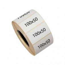 Самоклеящиеся термоэтикетки 100х50 мм полуглянцевые