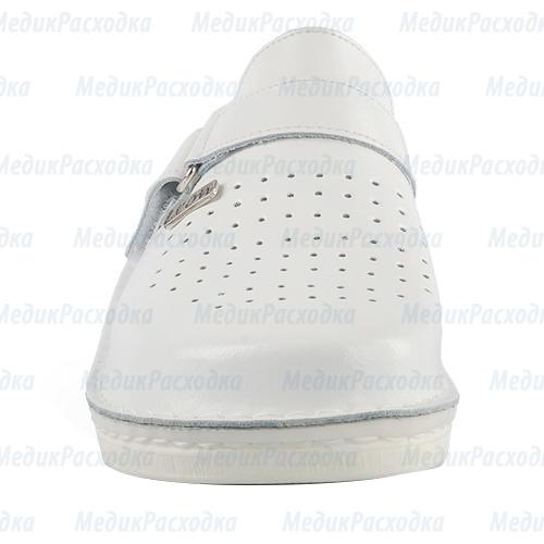 Тапочки сабо белые
