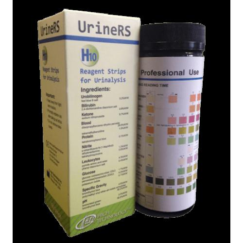 Тест-полоски UrineRS H10