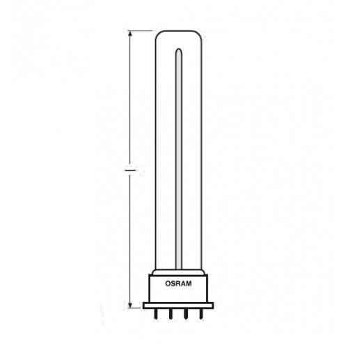 Бактерицидная лампа Osram HNS S/E 9W 2G7