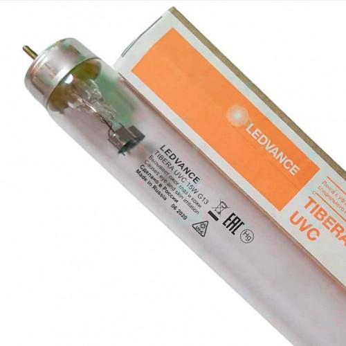 Бактерицидная лампа LEDVANCE TIBERA UVC 15W T8 G13 UVC 253,7nm без озона