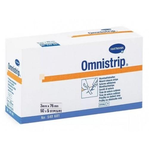 Omnistrip гипоаллергенные полоски на операционные швы 3х76 мм