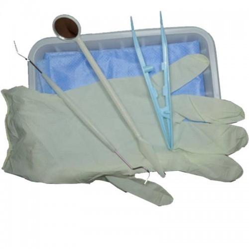 Набор стоматологический одноразовый стерильный Евадент тип-1