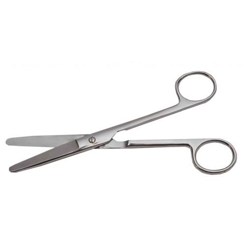 Ножницы тупоконечные прямые 170 мм