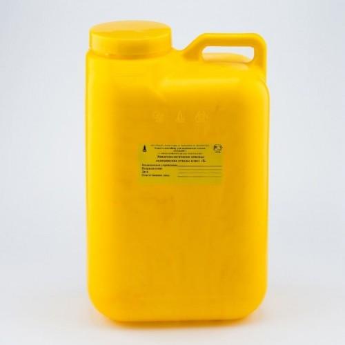 ЕМК-контейнер для сбора медицинских отходов Олданс с иглоотсеком