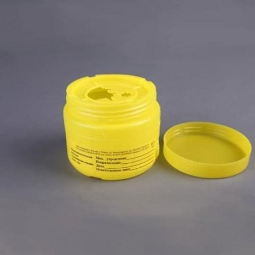 Упаковка для сбора медицинских отходов с иглоотсеком Олданс