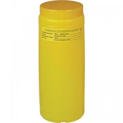 Упаковка для сбора медицинских отходов Олданс (банка 2 литра)