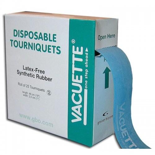 Жгут венозный Vacuette взрослый одноразовый 45х2.5 см