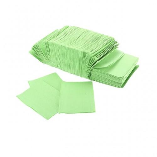 Салфетки бумажно-полиэтиленовые ламинированные, размер 33х45 см