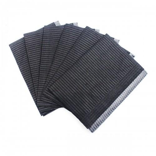 Салфетки ламинированные черные 33х45 мм