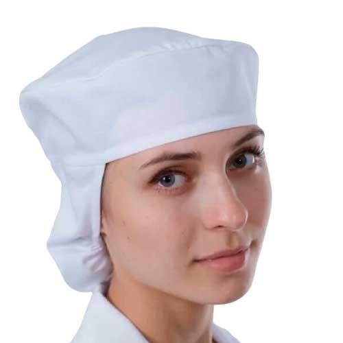 Медицинские шапочки многоразовые из тонкой дышащей ткани