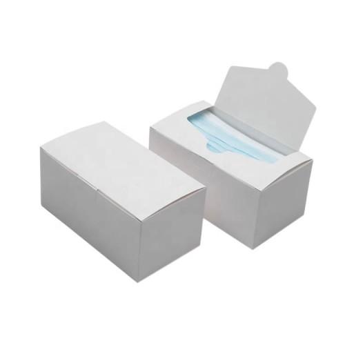 Коробки для масок с печатью