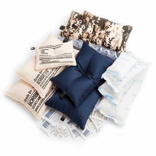 Осушители-влагопоглотители в тканевых мешках (ОВТМ)