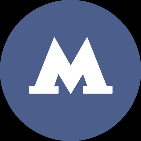 Значок метро картинки