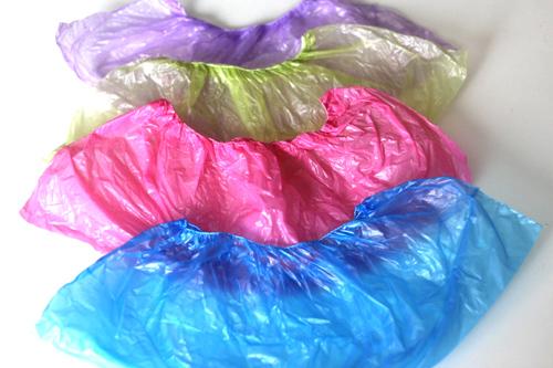 Цветные бахилы