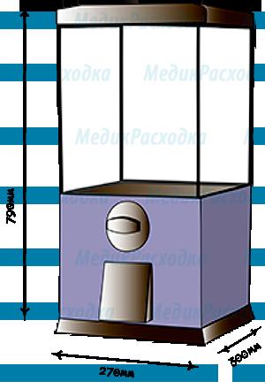 Аппарат по продаже бахил в капсулах от 28мм до 45мм