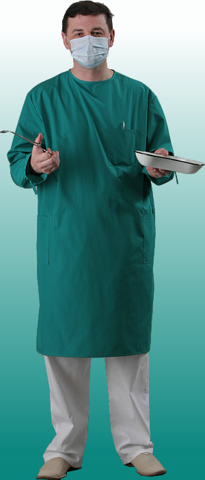 Многоразовый халат