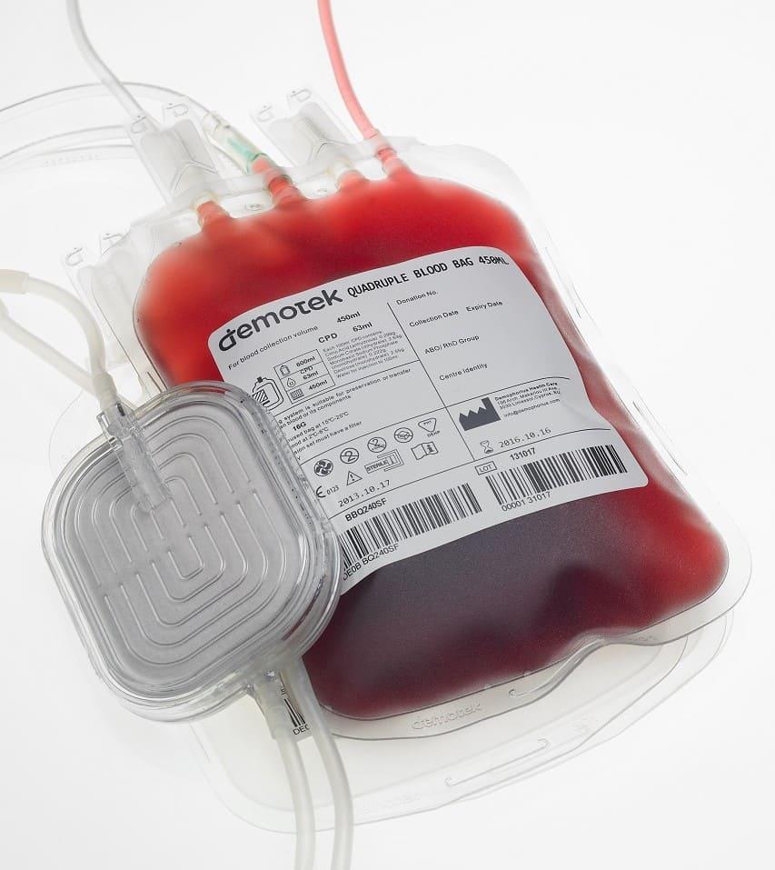 Контейнер с кровью