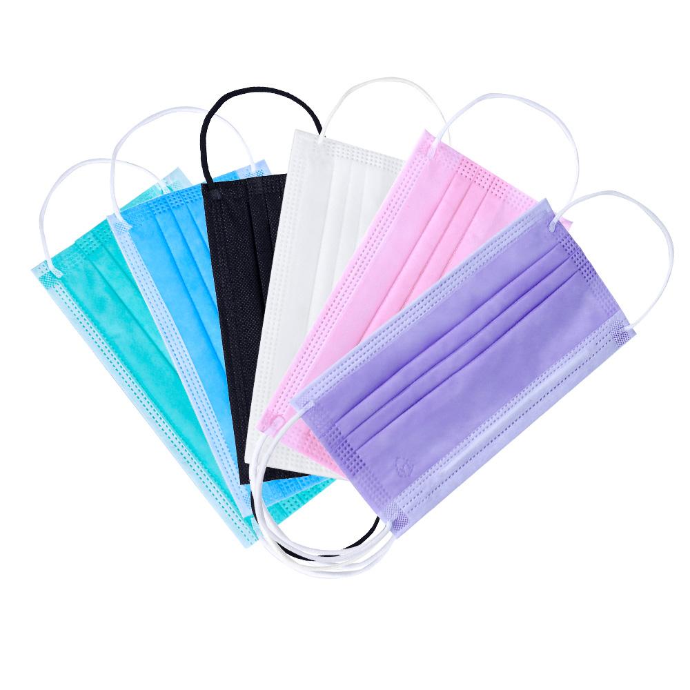 Цветные маски медицинские