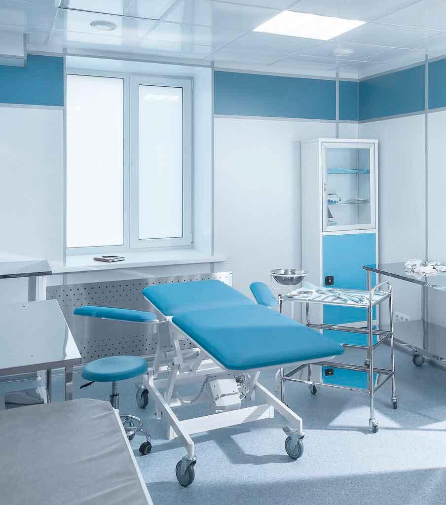 Медицинский кабинет с мебелью комплексное оснащение