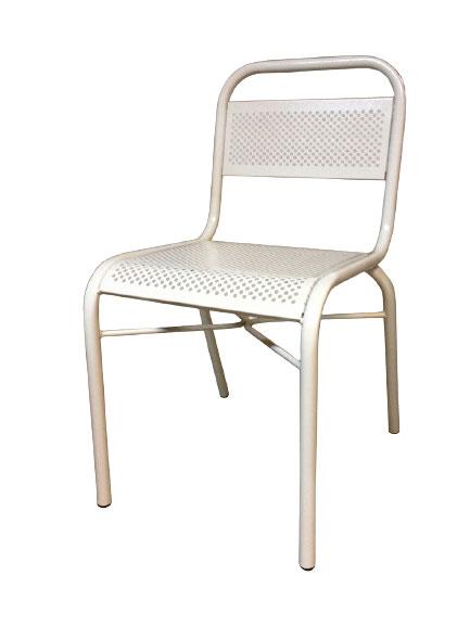 Металлический перфорированный стул СТ11