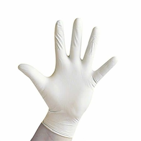 Нитриловые перчатки медицинские белые