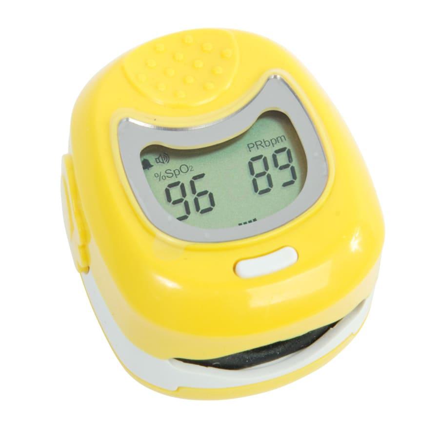 Пульсоксиметр детский CMS 50QB желтый