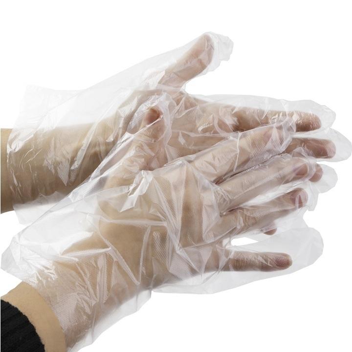 Полиэтиленовые перчатки медицинские