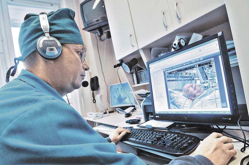 Телемедицина - возможность проведения операций и консультаций на расстоянии