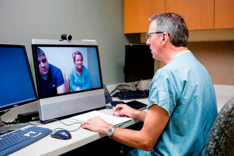 Телемедицина консультация врача на расстоянии