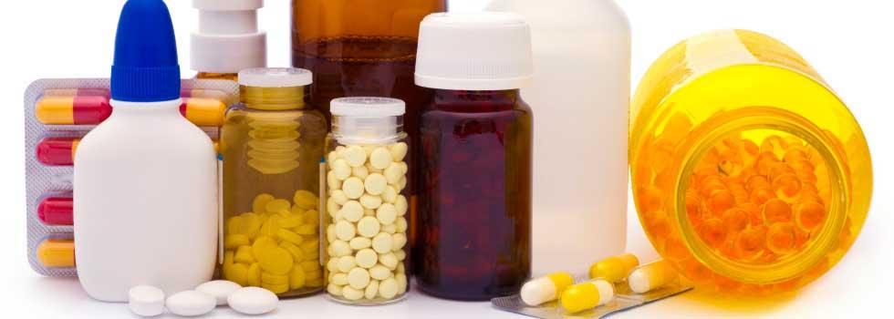 Упаковка лекарственных средств из различных материалов