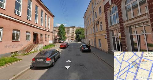 фотография входа в офис Санкт-Петербург