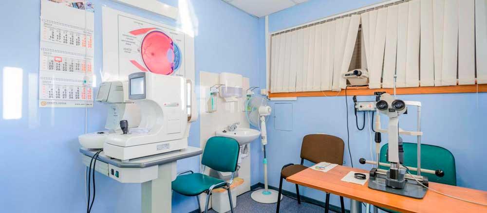 Комплексное оснащение кабинета офтальмолога