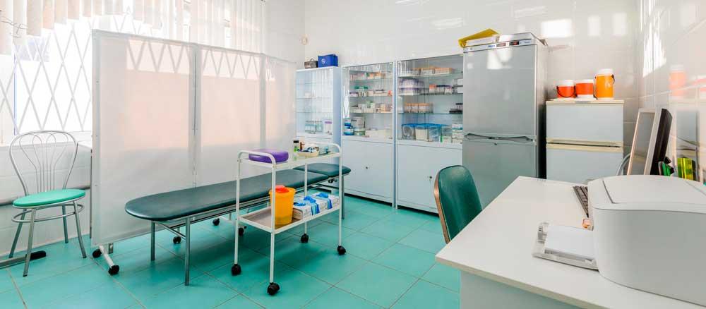 Комплексное оснащение процедурных кабинетов пунктов вакцинации