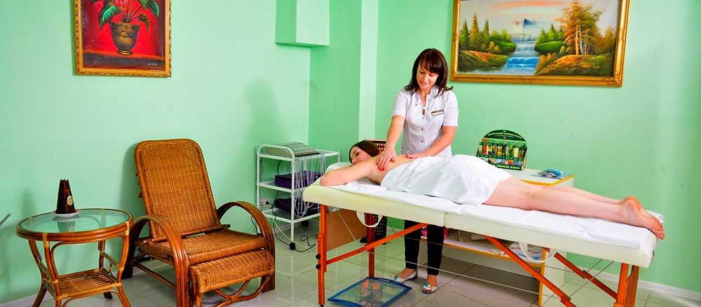 Комплексное оснащение санаториев и кабинетов для санаторно-курортного лечения