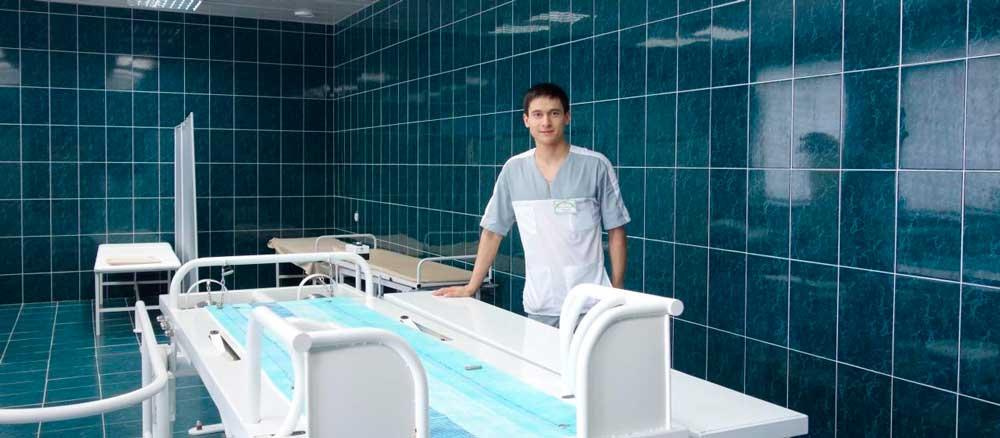 Комплексное оснащение санаториев
