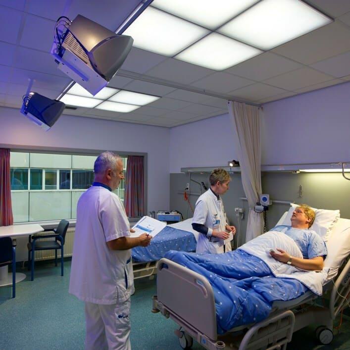 Медицинский светильник LC-SIP-40-OP-DW