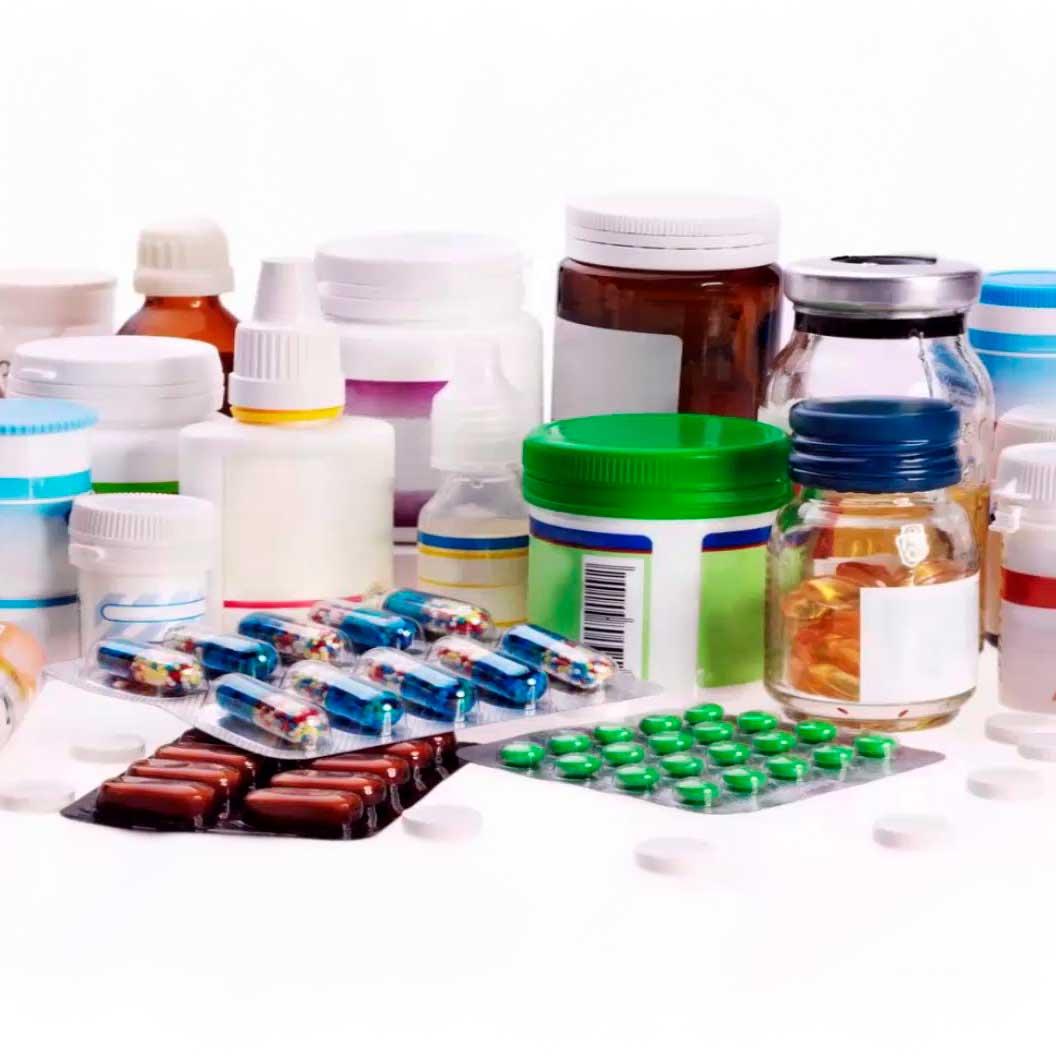 Разнообразие упаковки для БАД