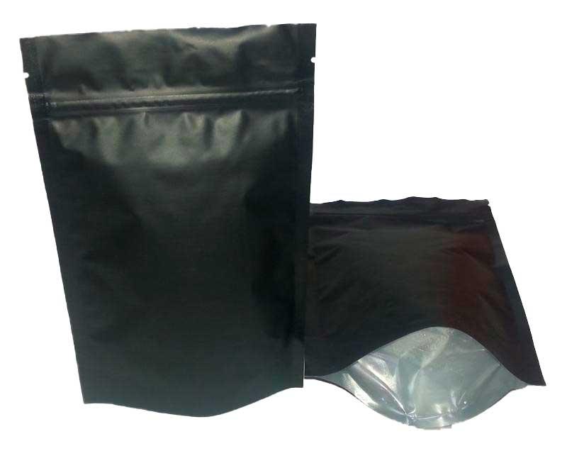 Фольгированный пакет дой-пак с замком zip-lock