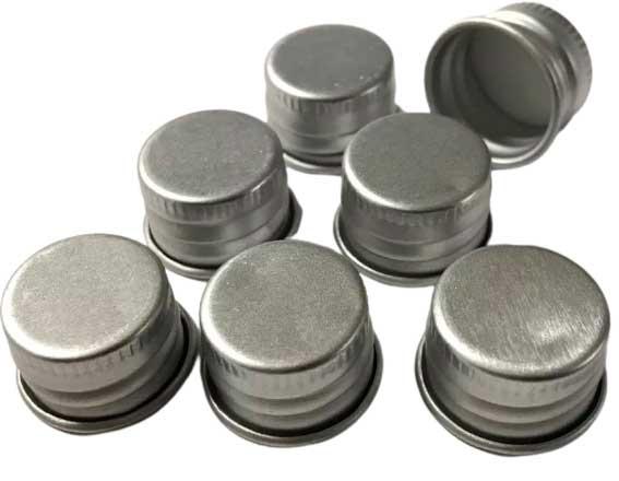 Крышки винтовые алюминиевые